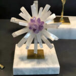 Crystal Flowers Ornaments