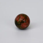 Red and Green Gemstone Sphere S