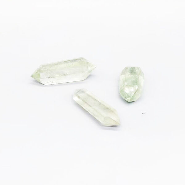 green crystal double points-1