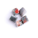 african bloodstone tumbled crystal cube set 2-2.5cm 23