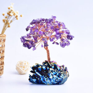 amethyst crystal tree with cluster base 20