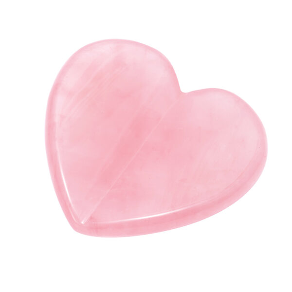 rose quartz scrapping plate and crystal massage set 40